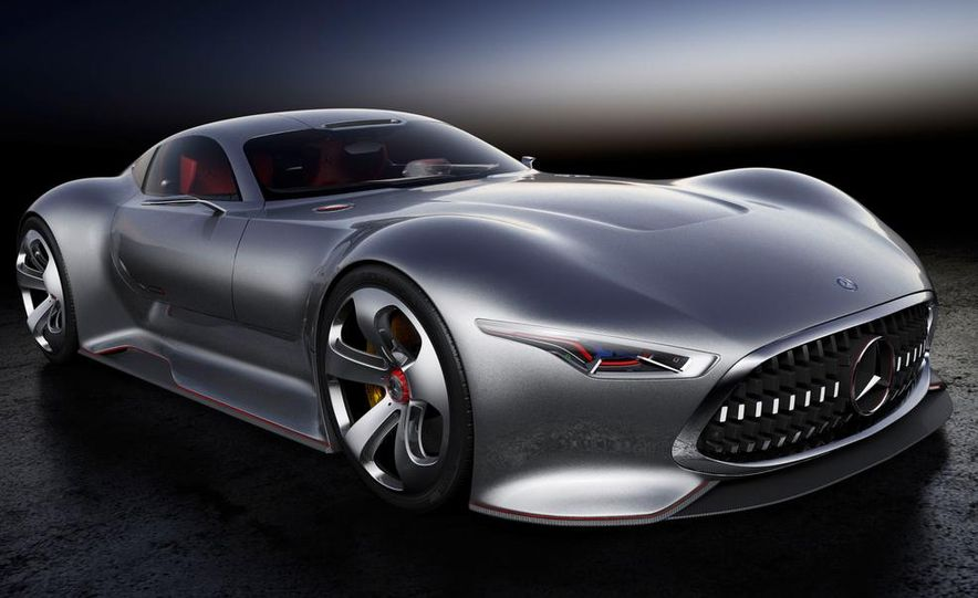 Mercedes-Benz AMG Vision Gran Turismo concept - Slide 33