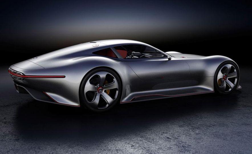 Mercedes-Benz AMG Vision Gran Turismo concept - Slide 35