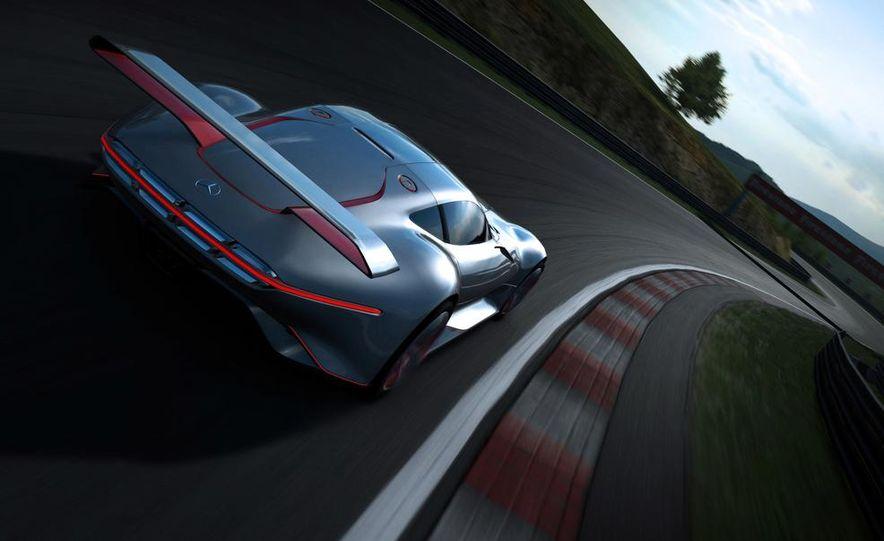 Mercedes-Benz AMG Vision Gran Turismo concept - Slide 38