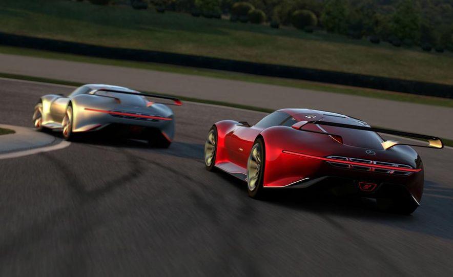 Mercedes-Benz AMG Vision Gran Turismo concept - Slide 37