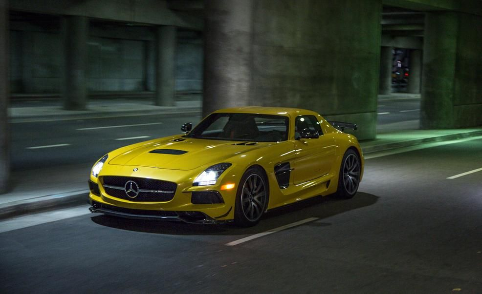 2014 mercedes benz sls amg black series pictures photo gallery car and driver