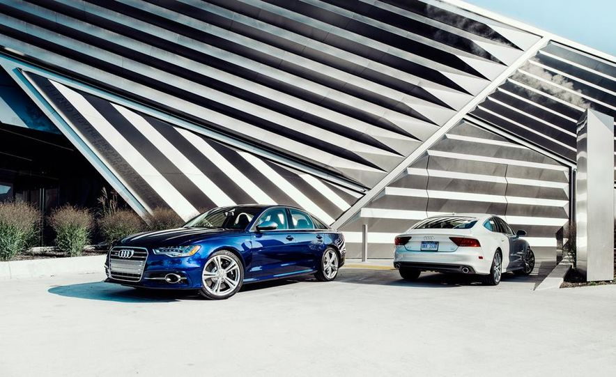 2014 Audi S6 and A7 TDI - Slide 1