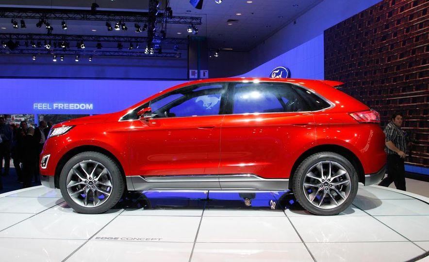 Ford Edge concept - Slide 11