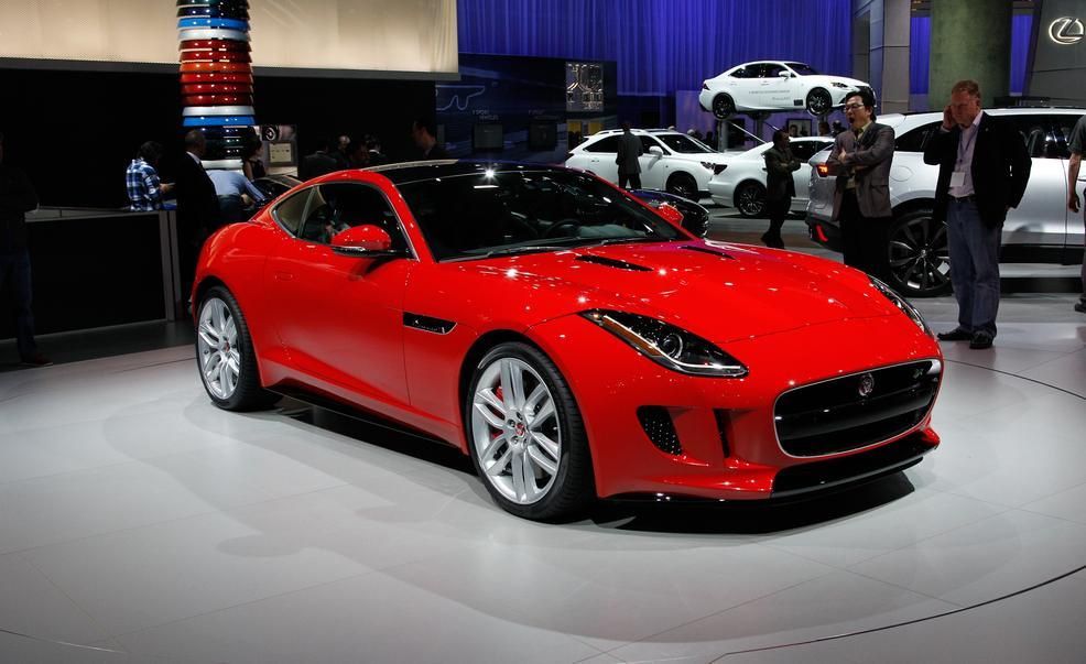 2015 Jaguar F Type Coupe: An All Aluminum Beauty