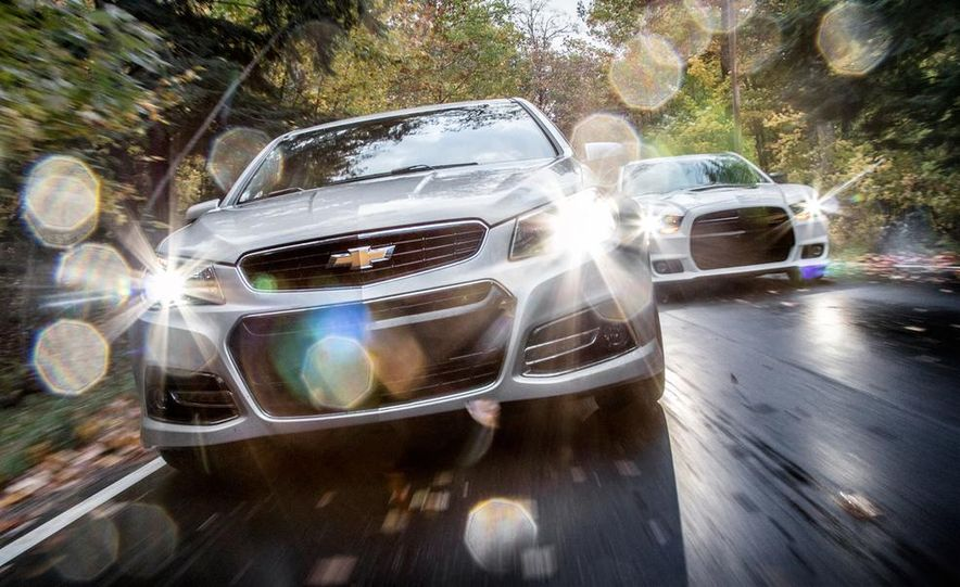 2014 Chevrolet SS and 2013 Dodge Charger SRT8 392 - Slide 1