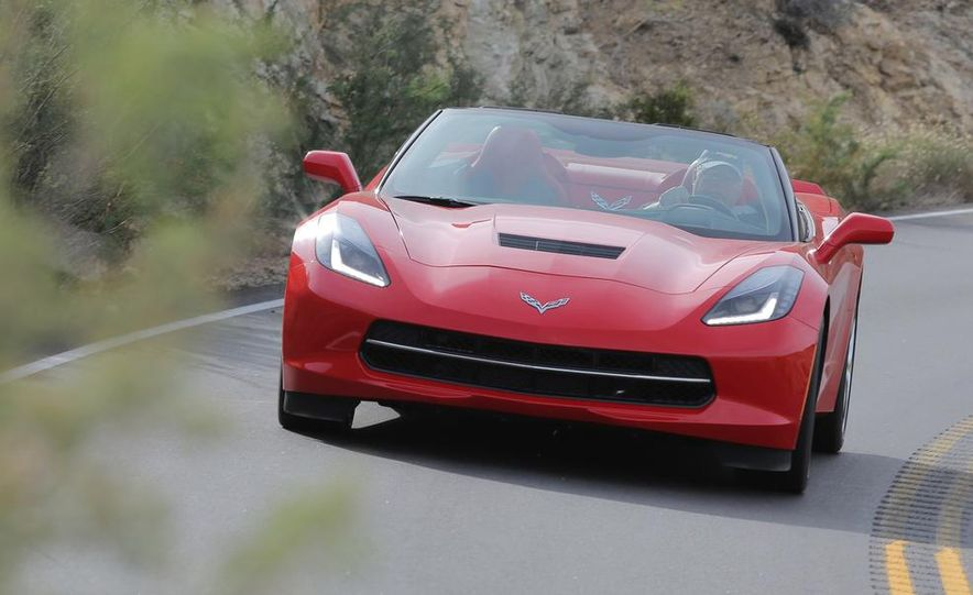 2014 Chevrolet Corvette Stingray convertible - Slide 1