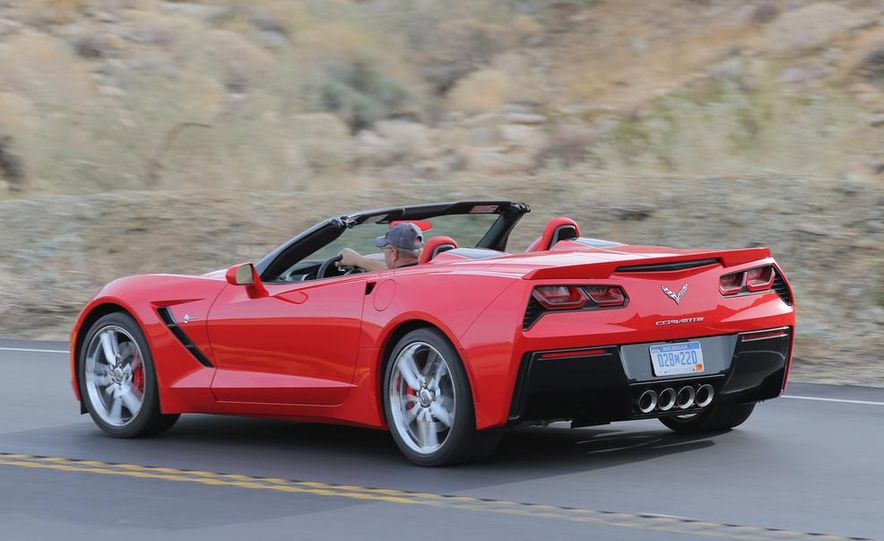 2014 Chevrolet Corvette Stingray convertible - Slide 5
