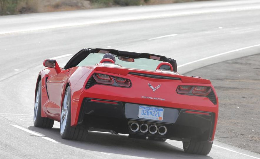 2014 Chevrolet Corvette Stingray convertible - Slide 6