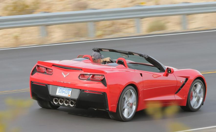 2014 Chevrolet Corvette Stingray convertible - Slide 7