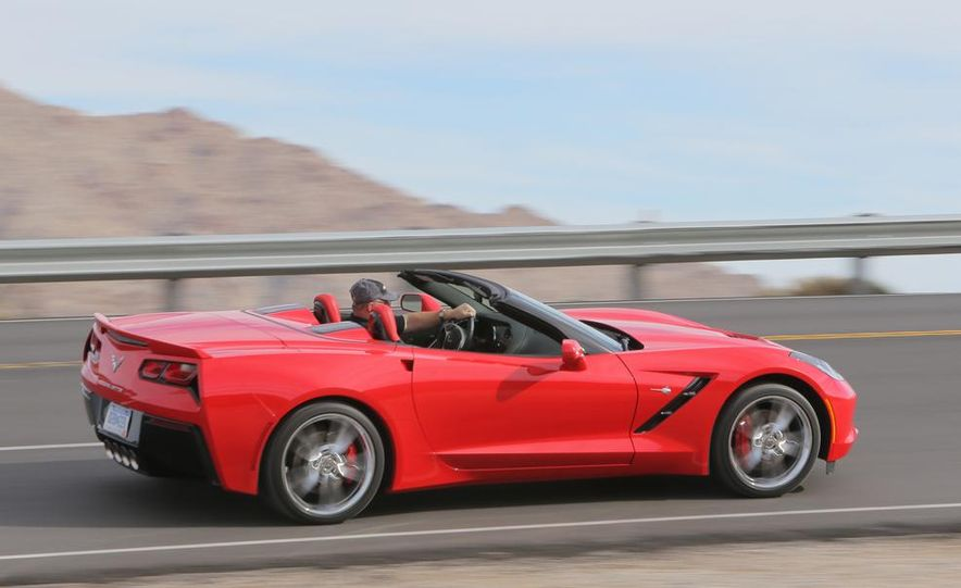 2014 Chevrolet Corvette Stingray convertible - Slide 8