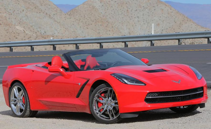 2014 Chevrolet Corvette Stingray convertible - Slide 10
