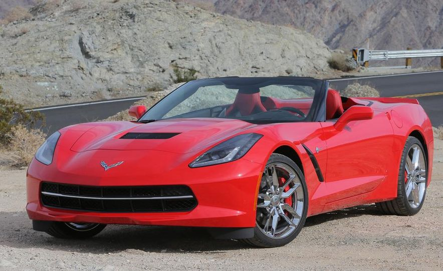 2014 Chevrolet Corvette Stingray convertible - Slide 14