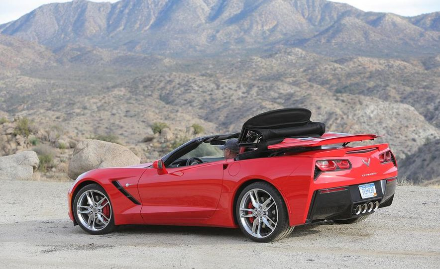 2014 Chevrolet Corvette Stingray convertible - Slide 18