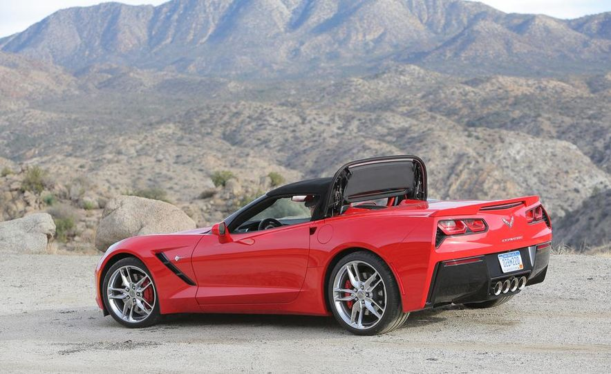 2014 Chevrolet Corvette Stingray convertible - Slide 21