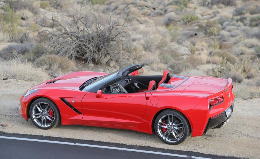 2014 Chevrolet Corvette Stingray convertible - Slide 26