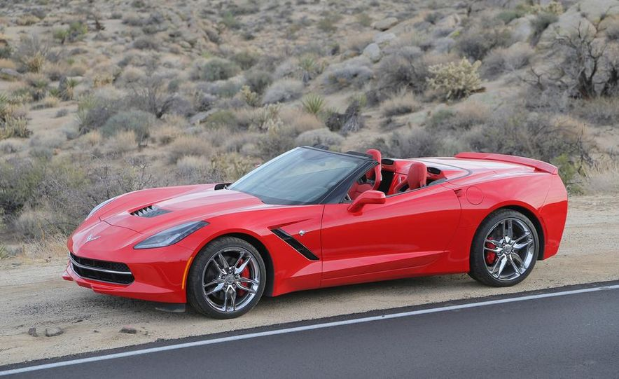 2014 Chevrolet Corvette Stingray convertible - Slide 29