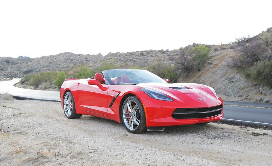 2014 Chevrolet Corvette Stingray convertible - Slide 31