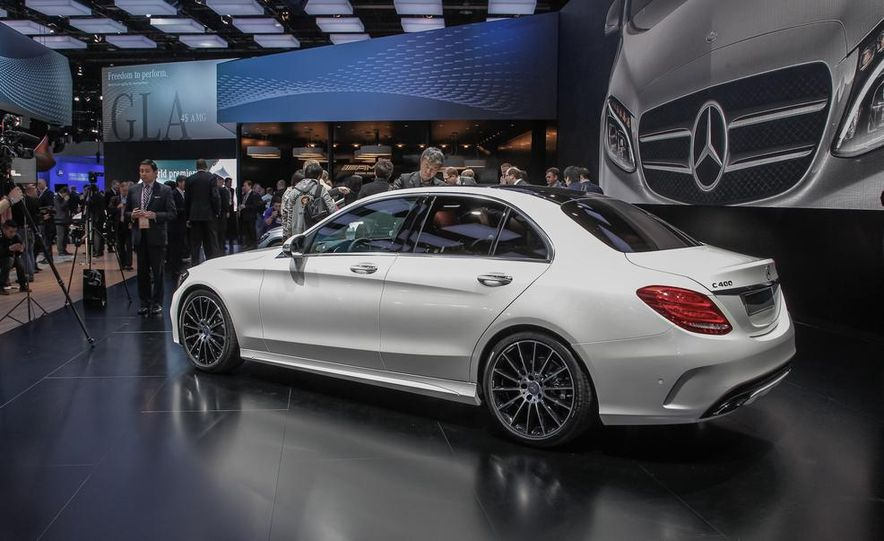 2015 Mercedes-Benz C400 - Slide 7