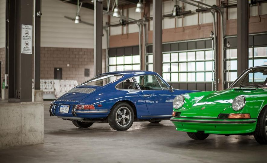 1968 Porsche 911 and 1973 Porsche 911E Targa - Slide 2