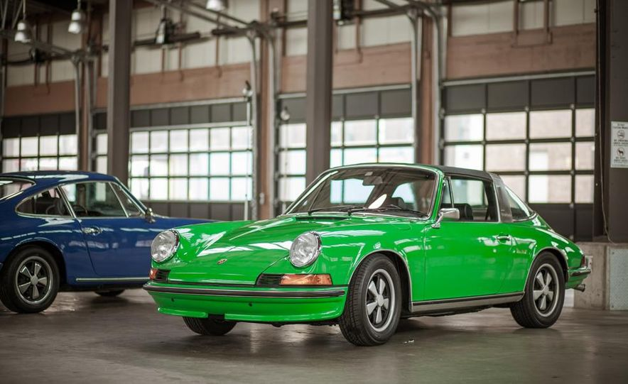 1968 Porsche 911 and 1973 Porsche 911E Targa - Slide 3