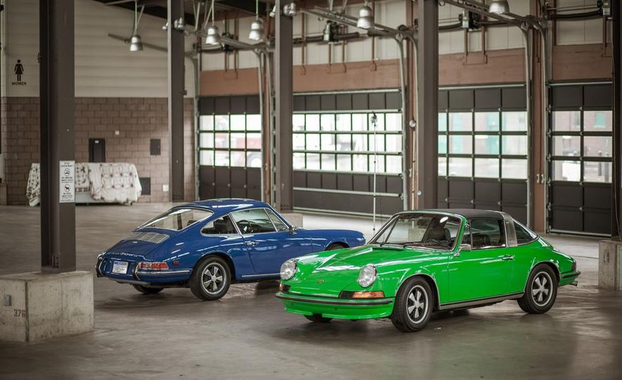 1968 Porsche 911 and 1973 Porsche 911E Targa - Slide 4