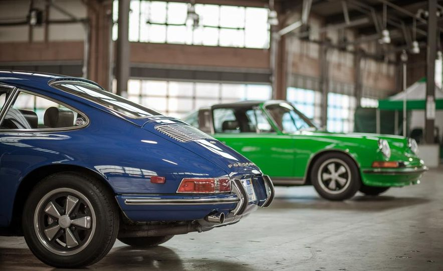 1968 Porsche 911 and 1973 Porsche 911E Targa - Slide 5