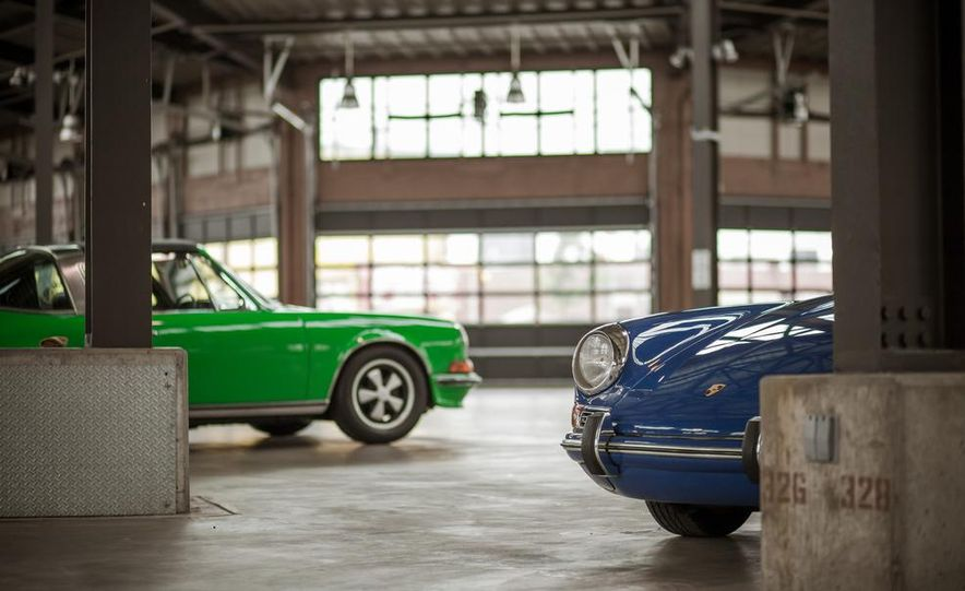 1968 Porsche 911 and 1973 Porsche 911E Targa - Slide 6