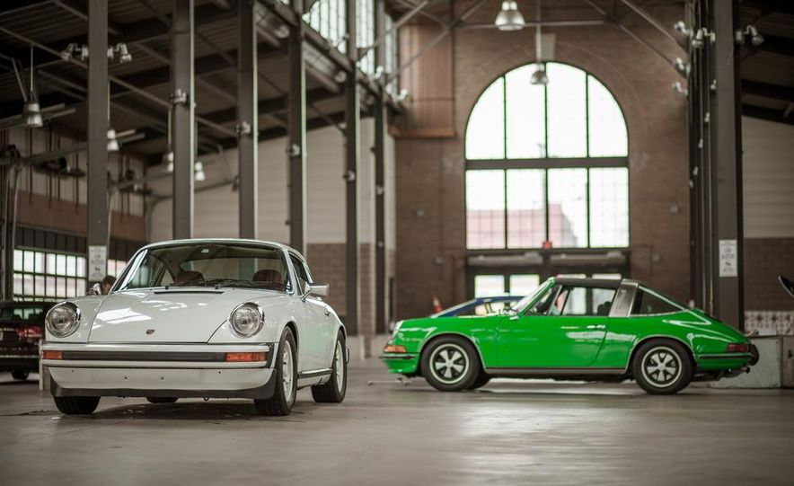 1968 Porsche 911 and 1973 Porsche 911E Targa - Slide 41
