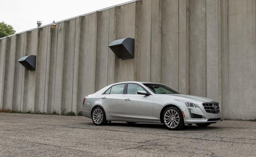 2014 Cadillac CTS 2.0T - Slide 7
