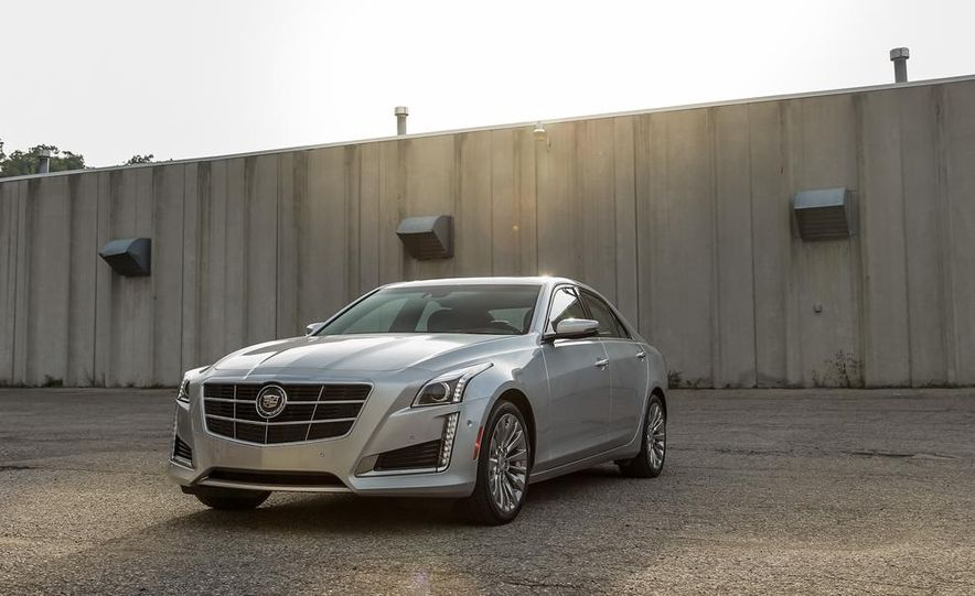 2014 Cadillac CTS 2.0T - Slide 9