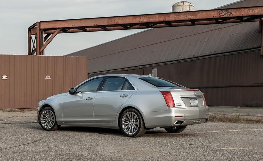 2014 Cadillac CTS 2.0T - Slide 10