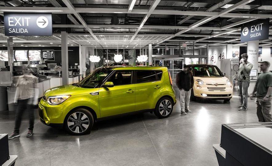 2014 Kia Soul! and 2014 Fiat 500L Lounge - Slide 4