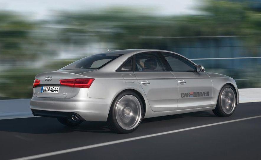2015 Audi A4 TDI (artist's rendering) - Slide 2