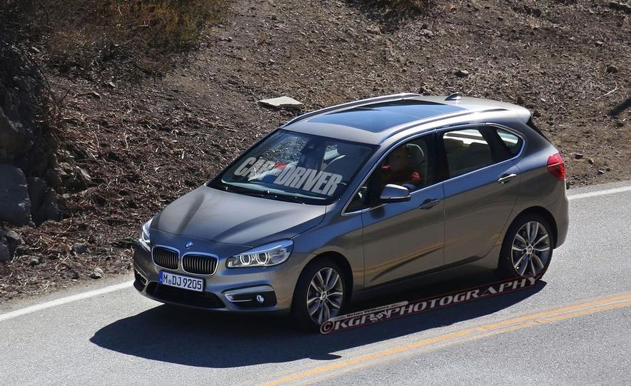 2015 BMW 225i Active Tourer (spy photo) - Slide 2