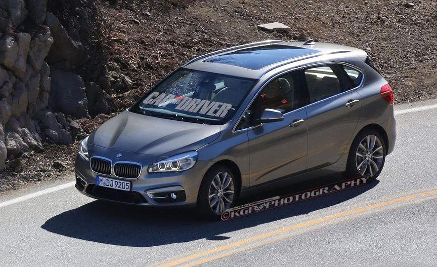 2015 BMW 225i Active Tourer (spy photo) - Slide 3