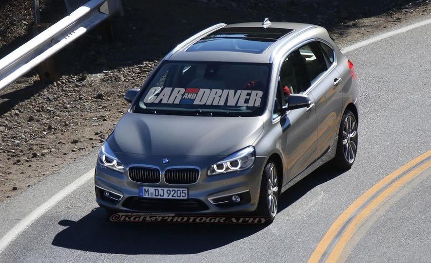 2015 BMW 225i Active Tourer (spy photo) - Slide 4