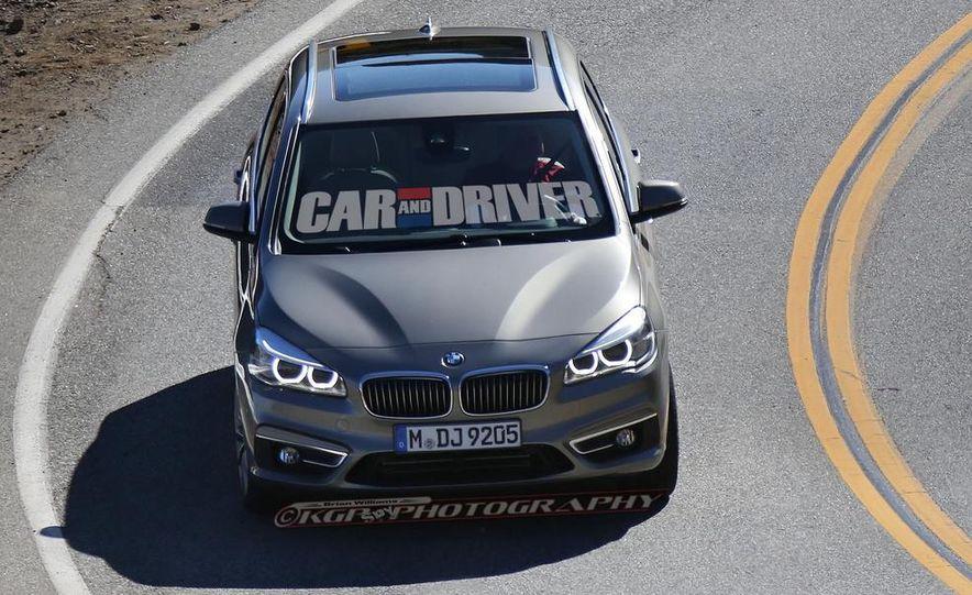 2015 BMW 225i Active Tourer (spy photo) - Slide 5