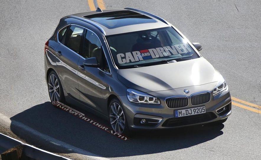 2015 BMW 225i Active Tourer (spy photo) - Slide 6