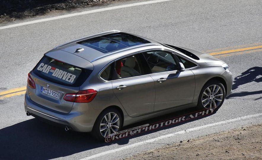 2015 BMW 225i Active Tourer (spy photo) - Slide 7