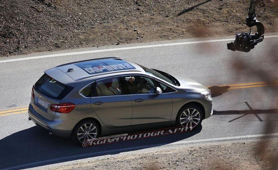 2015 BMW 225i Active Tourer (spy photo) - Slide 8