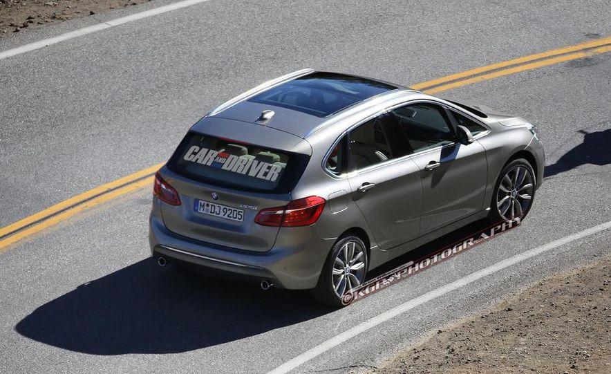 2015 BMW 225i Active Tourer (spy photo) - Slide 10