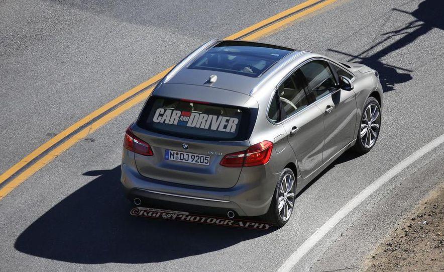 2015 BMW 225i Active Tourer (spy photo) - Slide 11
