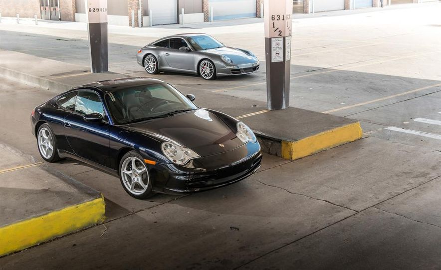 2002 Porsche 911 Carrera and 2008 Porsche 911 Carrera Targa 4S - Slide 1