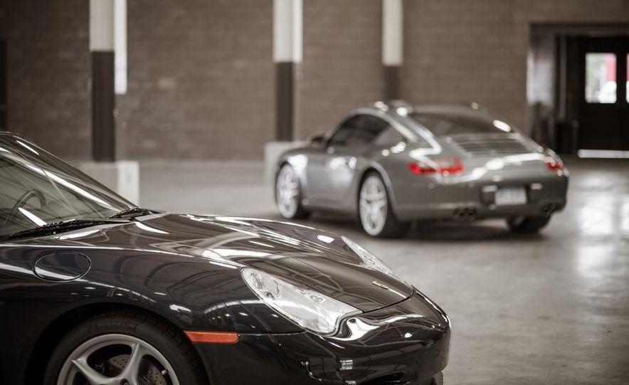 2002 Porsche 911 Carrera and 2008 Porsche 911 Carrera Targa 4S - Slide 2