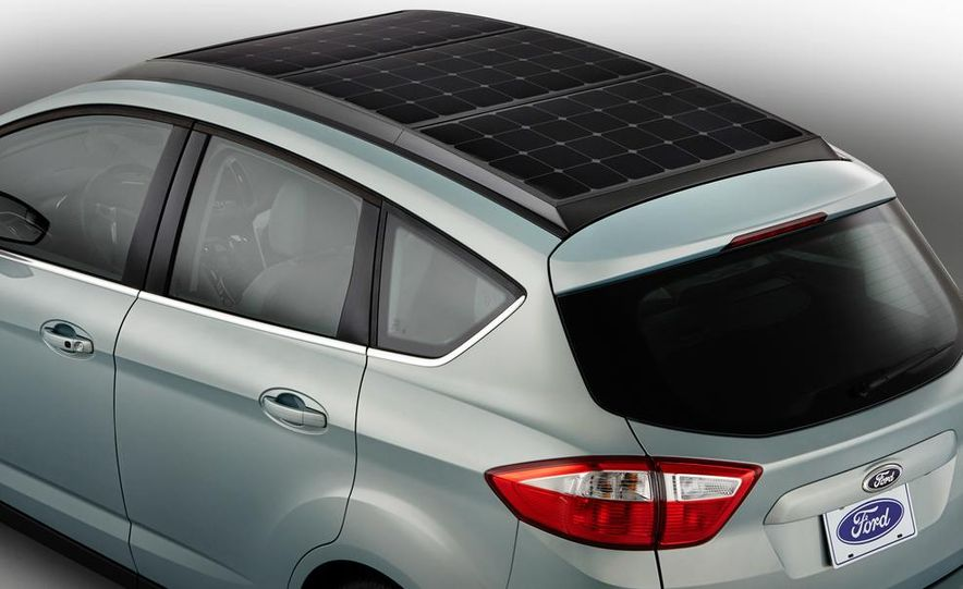 Ford C-Max Solar Energi concept - Slide 7