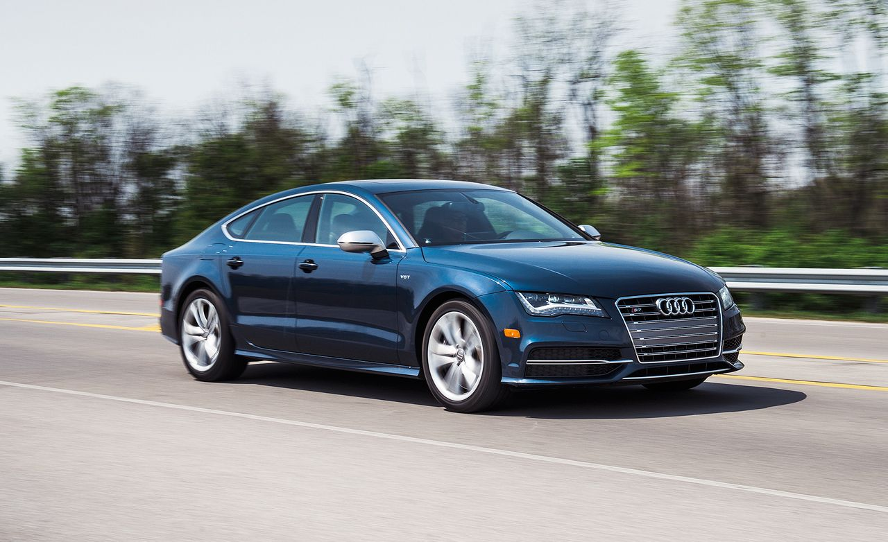 2013 audi s7 long term test review car and driver rh caranddriver com Top Gear Audi RS7 Audi RS7 Red