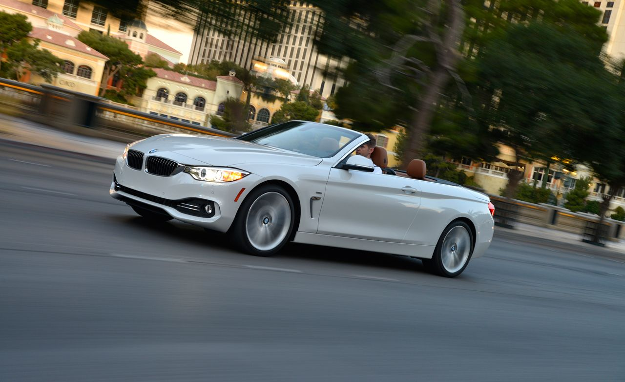 2014 BMW 4series Convertible First Drive  Review  Car and Driver