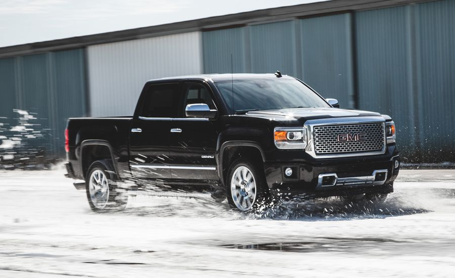 2014 gmc sierra 1500 6 2l 4x4 test review car and driver. Black Bedroom Furniture Sets. Home Design Ideas