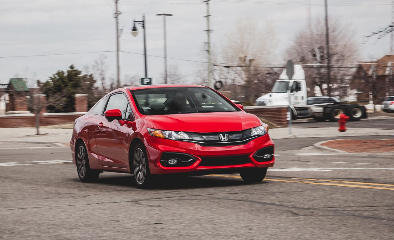 2014 Honda Civic Coupe CVT Automatic