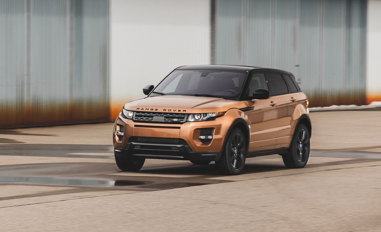 2014 land rover range rover evoque test review car and driver. Black Bedroom Furniture Sets. Home Design Ideas